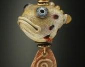 Grouper fish pendant....Special order item