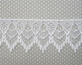 Lovely Venice Lace 2.5 In Trim 1 Yd Venise WHITE
