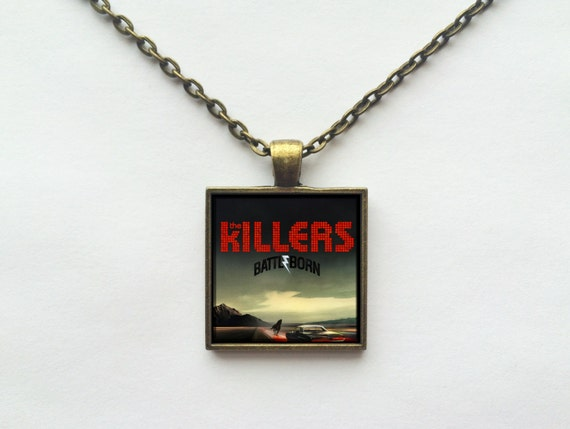 The Killers - Battle Born Album Cover Necklace OR Keychain