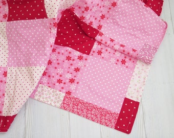 SALE , baby quilt , baby quilts for sale , personalized baby blankets , homemade quilts , baby girl pink quilt blanket , modern quilt