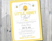 FREE PRINTABLE with purchase - Printable What Will it Bee Invite