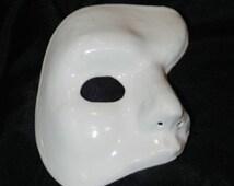 White Phantom of the Opera Mask