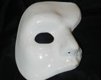White Phantom of the Opera Mask