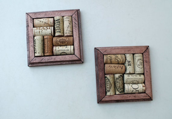 Crafts for wine corks diy coasters reclaimed by thewoodenbee for Cork coasters for crafts