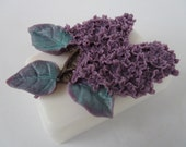 Lilac Soap Bar - gifts for teens, gifts for woman, Stocking stuffer for her, Christmas gift