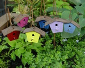 Fairy Garden Accessories, Miniature Garden Birdhouse