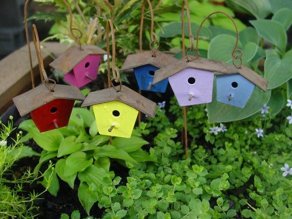 Fairy Garden Accessories Miniature Garden Birdhouse