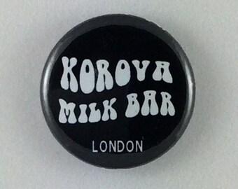 """1"""" Button - Korova Milk Bar"""