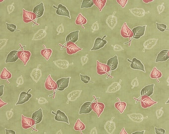 Country Orchard - Falling Leaves in Leaf by Blackbird Designs for Moda Fabric
