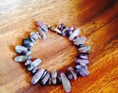 Purple ray charoite healing bracelet gemstone healer high vibrations