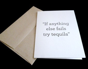 If anything else fails try tequila