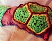Newborn Turtle Photo Prop