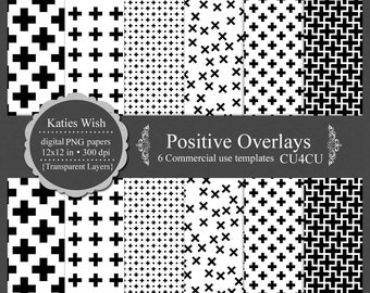 Swiss Cross Positive Digital Kit Commercial Use PNG Overlay Templates Instant Download Designers Resource
