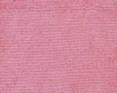 Chenille Fabric - Soft Pink Chenille Fabric - 1/2 YARD ONLY