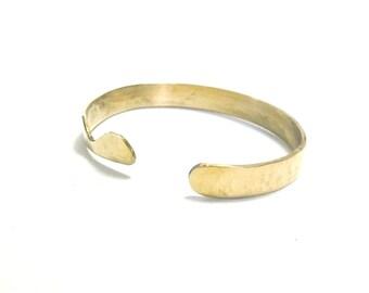 Brass Bracelet, Cuff, Women, Men, Ready To Ship, Metalwork, Bangle