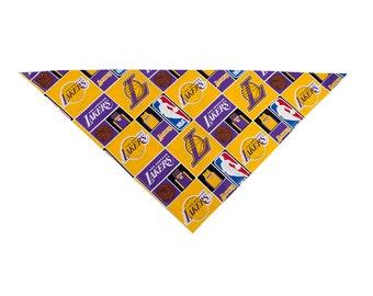 LA Lakers Dog Bandana
