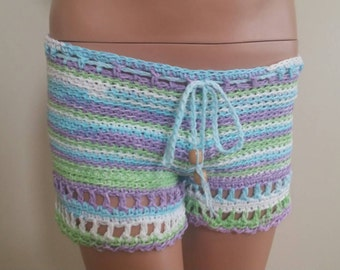 Crochet women's shorts