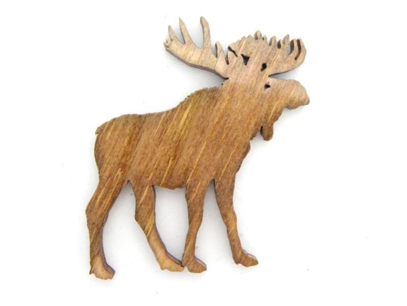 Moose Moose Pin Moose Magnet Bull Moose Moose Cut Out