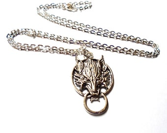 Final Fantasy, Wolf, Mens jewelry, , Cloud Strife,