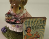 Dollhouse Miniature, Art, Sign, Picture, Shabby Chic, Paris, Cake, Pie, Menu, Cupcakes, Bakery, Confection, Pastry, Kitchen, Cooking, Baking