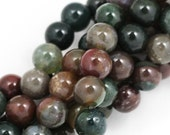 Fancy Jasper Beads - 8mm Round - Full Strand