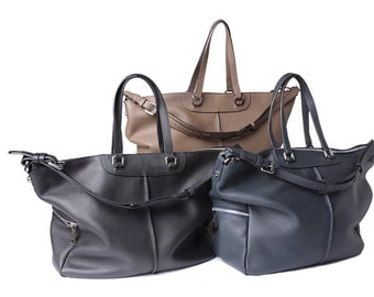 The Chelsea, Leather Pebble Tote