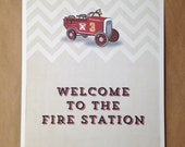 Firetruck Party Poster