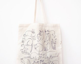 50% Off Picasso Cats Tote Seconds