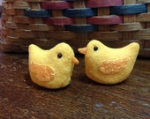 Baby Chicks for Farm Country Decor Time Set of Two JKB