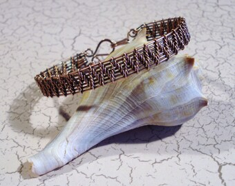 Copper Woven Bracelet Free US Shipping