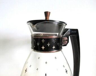 Vintage Retro Pyrex Silex Coffee Carafe