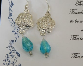 Memorial Teardrop Earrings