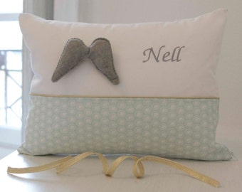 Child Pillow - Nell / Birth gift / Baby gift / Toddler gift / Girl / Bedroom decoration