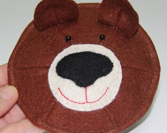 PATTERN: Teddy Bear Kippa