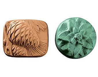 Pinecone Poinsettia Soap, Soap Set, Guest Soap, Novelty Soap, You pick scent & color
