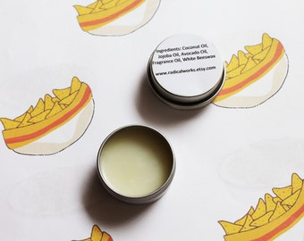 Fritos Solid Perfume - Scented Natural Perfume - Cologne - Perfume Samples - Coconut Oil - Avocado Oil - Beeswax