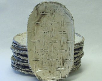 Diamond Steel Embossed Stacking Plate