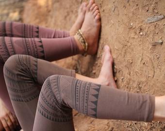 Tribal Leggings ~~ Organic Cotton ~~