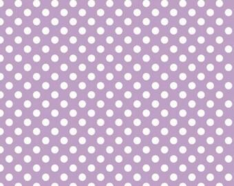 Small Dot LAVENDER  (C350-120) -  Riley Blake Designs - By the Yard