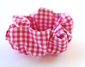 popular items for hot pink scrunchies on etsy