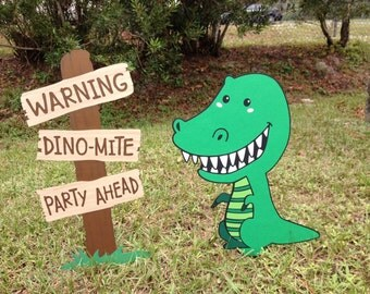 Dinosaur Birthday Party Decoration Set