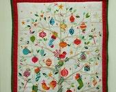 Advent Calendar. Quilted Christmas tree design Advent Calendar handmade.
