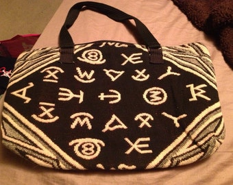 Symbolic Kilim Handbag Bookbag Laptop Tablet Carrier