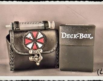 Leather case - Nerf darts - Deck Box - Umbrella Corporation