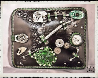 RadioActive leather case - Ipad - Netbook