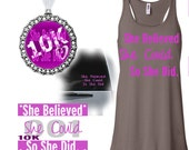 Virtual race - She believed she could so she did.