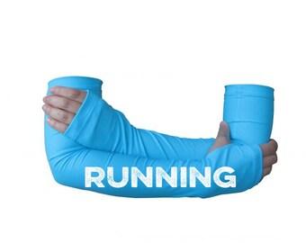 Arm warmer for running - RUNNING -  arm warmer, running gift, running gear, gift for runners, running sleeve
