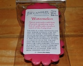 Watermelon Soy Wax Tart Melt - 2 Pack - Scented Wax Melts/Soy Tarts/Fruity Scent/