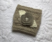 Coffee cup cozy, coffee cup sleeve, braid knit coffe cup cozy, travel mug, hostess gift