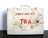 Vintage TWA First Aid Kit